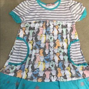 Jelly the Pug cat dress